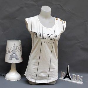 balmain women tee tshirt